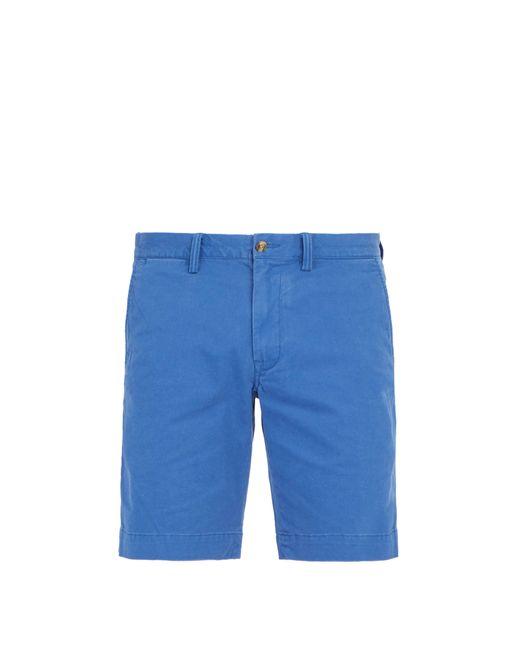 Polo Ralph Lauren - Blue Short chino ajusté en coton mélangé for Men - Lyst