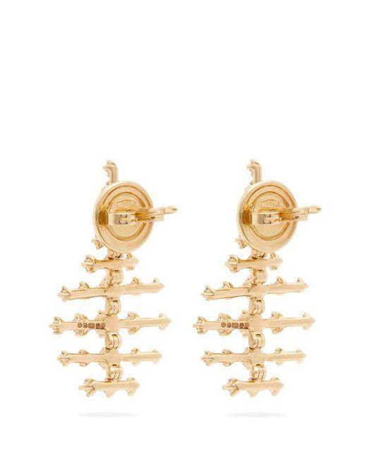 Fernando Jorge Mini Disco 18-karat Gold Diamond Earrings omDKKKOhg