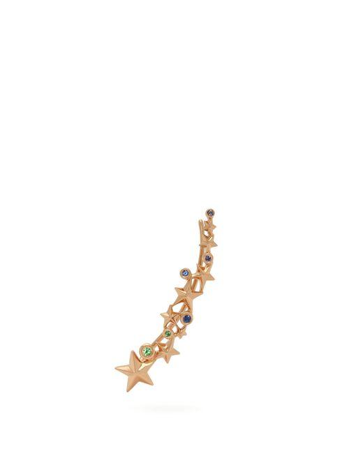 Bibi Van Der Velden - Metallic Shooting Star 18kt Gold Ear Cuff - Lyst