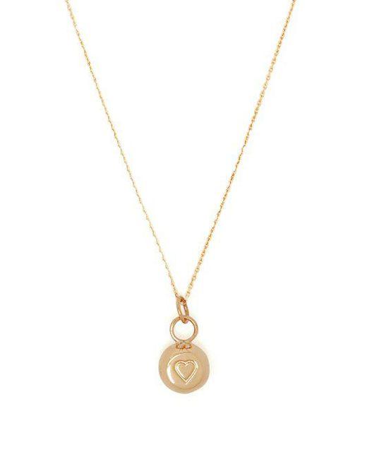 Aurélie Bidermann 18kt gold bell-charm necklace lu4vXbUi