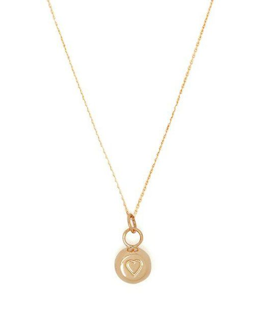 Aurelie Bidermann - Metallic 18kt Gold Bell-charm Necklace - Lyst