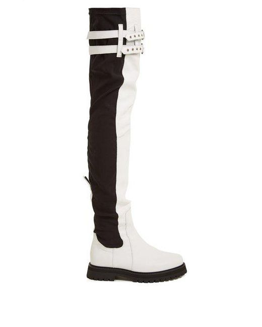 Thigh-high leather boots Marques Almeida c3lnl74b3l