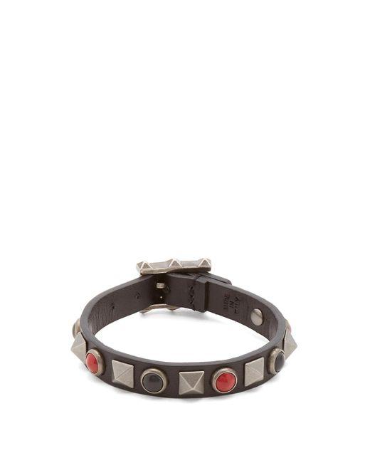 Valentino | Multicolor Rockstud Rolling Bracelet for Men | Lyst