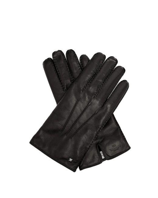 Valentino - Black Rockstud Leather Gloves for Men - Lyst