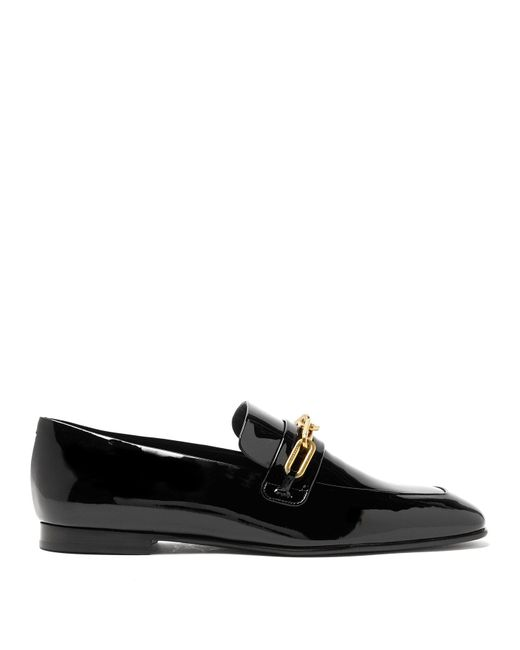 Burberry - Black Chillcot Patent-leather Loafers - Lyst