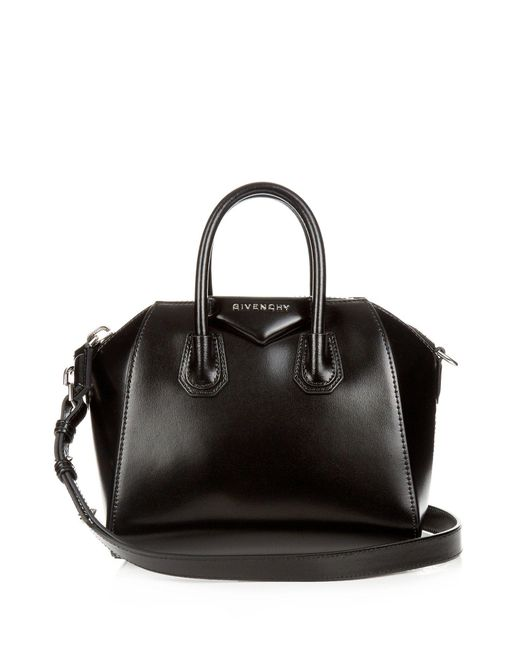 Givenchy - Black Antigona Mini Leather Cross Body Bag - Lyst ... 9820f3ca73