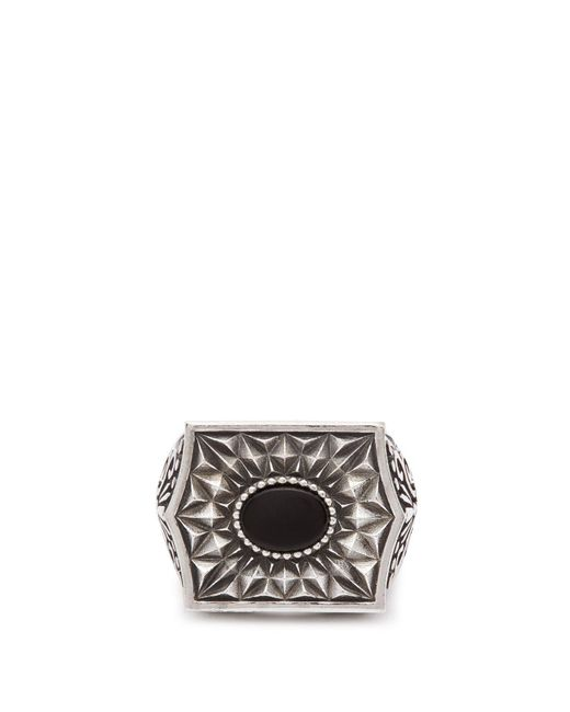 Emanuele Bicocchi - Metallic Chevalier Sterling Silver Ring for Men - Lyst