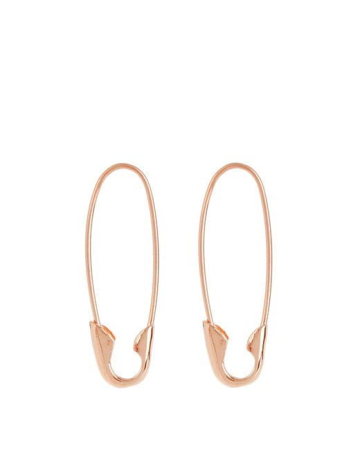 Loren Stewart | Metallic Rose-gold Earrings | Lyst