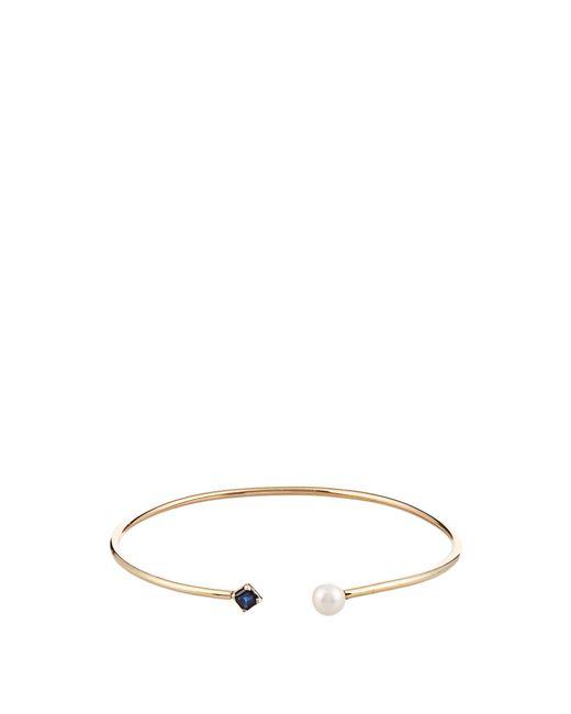 Loren Stewart | Multicolor Sapphire, Pearl & Yellow-gold Cuff | Lyst