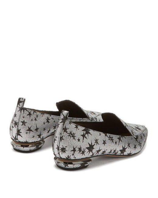 Beya star-jacquard loafers Nicholas Kirkwood rUMXB