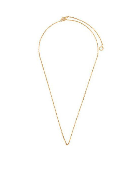 All_blues - Metallic - Polished Gold Plated String Necklace - Mens - Gold for Men - Lyst