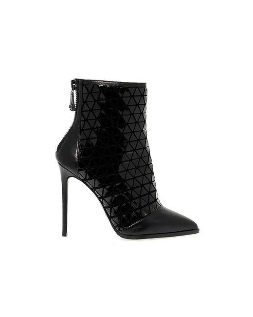Greymer - Black Leather Ankle Boots - Lyst