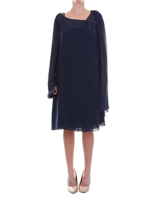 Carlo Pignatelli Blue Polyester Dress