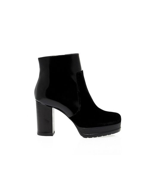 Guido Sgariglia - Black Leather Ankle Boots - Lyst