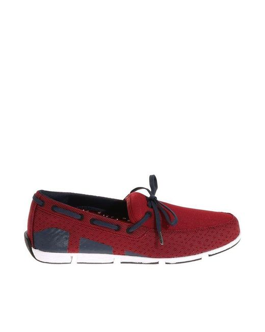f2cc8979e51 Lyst - Swims Red Fabric Loafers in Red for Men