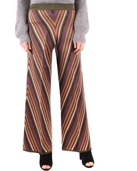 Twin Set - Multicolor Other Materials Pants - Lyst