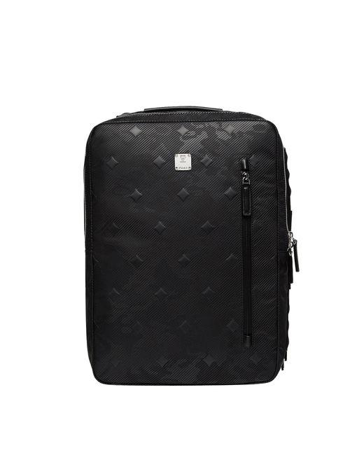 MCM - Black Dieter Briefpack In Textured Camo Nylon for Men - Lyst