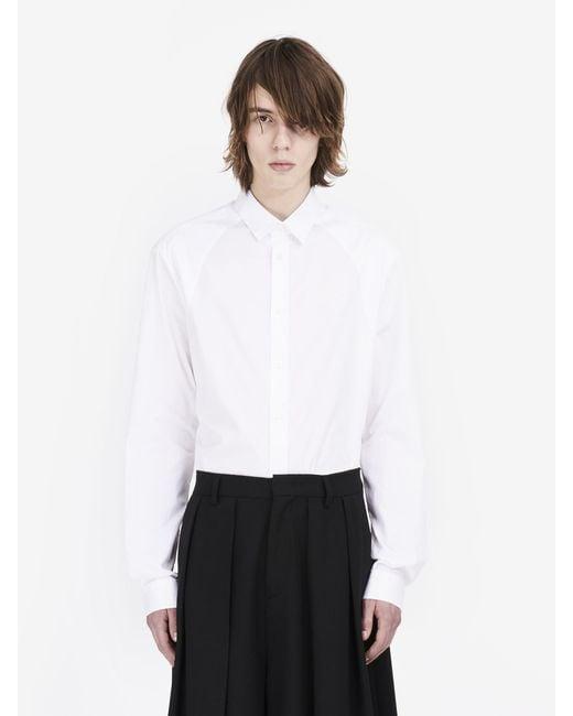 McQ Alexander McQueen - White Harness Shirt - Lyst