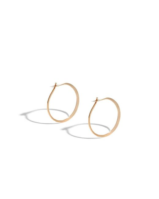 Melissa Joy Manning | Pink 3/4 Inch Classic Round Hoops | Lyst