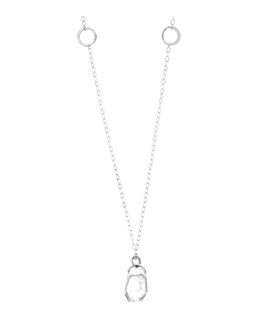 Melissa Joy Manning | Metallic Prong Set Herkimer Diamond Necklace | Lyst