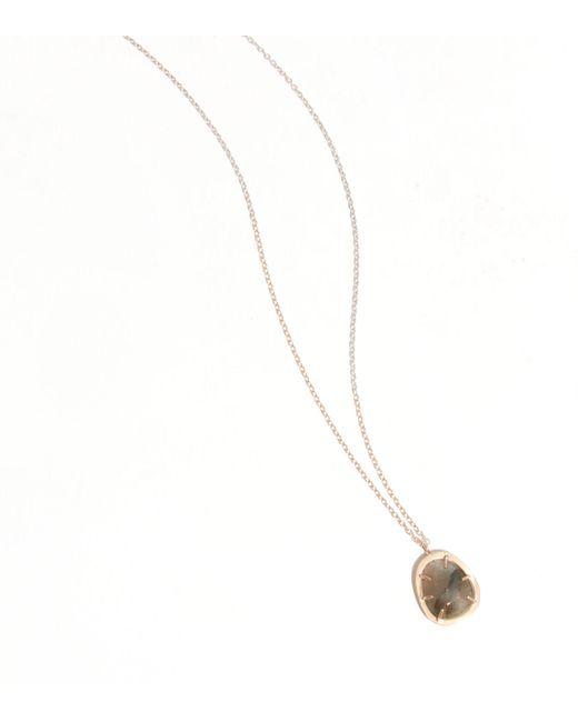 Melissa Joy Manning | Metallic Freeform Halo Set Labradorite Necklace | Lyst
