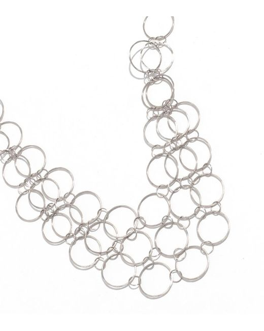 Melissa Joy Manning | Metallic Mini Collar Necklace | Lyst
