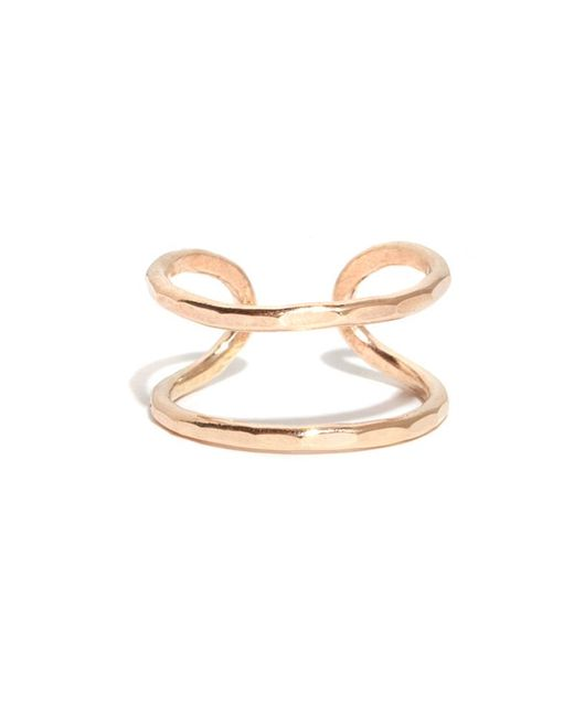 Melissa Joy Manning | Metallic Double Open Back Ring | Lyst