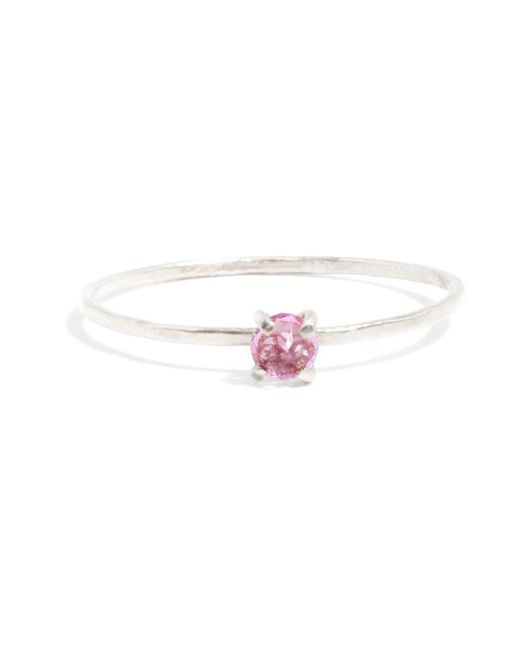 Melissa Joy Manning | Pink Prong Set Garnet Ring | Lyst