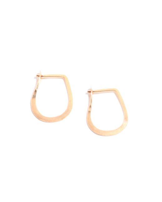 Melissa Joy Manning | Pink 1/2 Inch Teardrop Hoops | Lyst