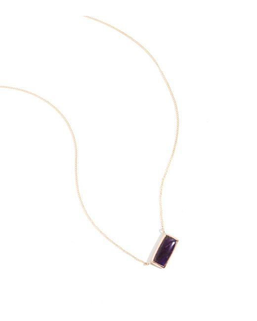 Melissa Joy Manning | Metallic Sugilite Necklace | Lyst