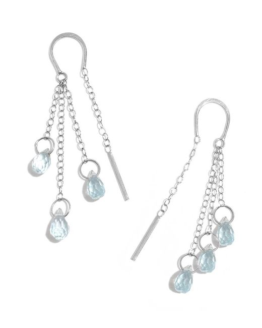Melissa Joy Manning | Blue Topaz Three Drop Horseshoe Multi | Lyst