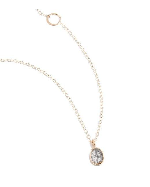 Melissa Joy Manning | Metallic Tourmalated Quartz Necklace | Lyst