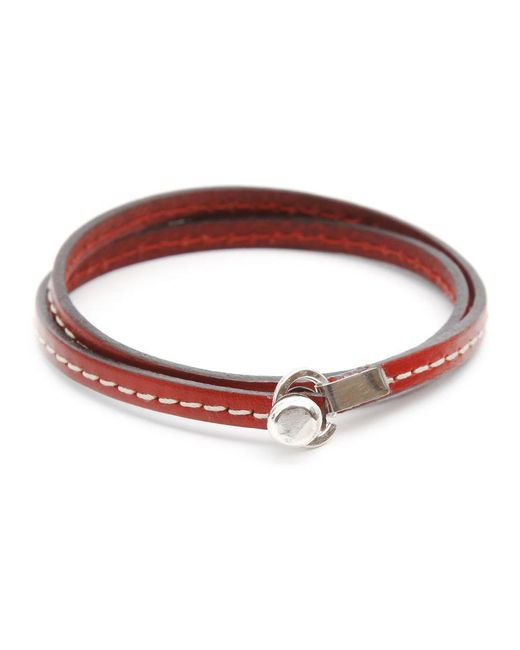 Gilbert Gilbert | Joseph 18 Red Bracelet for Men | Lyst