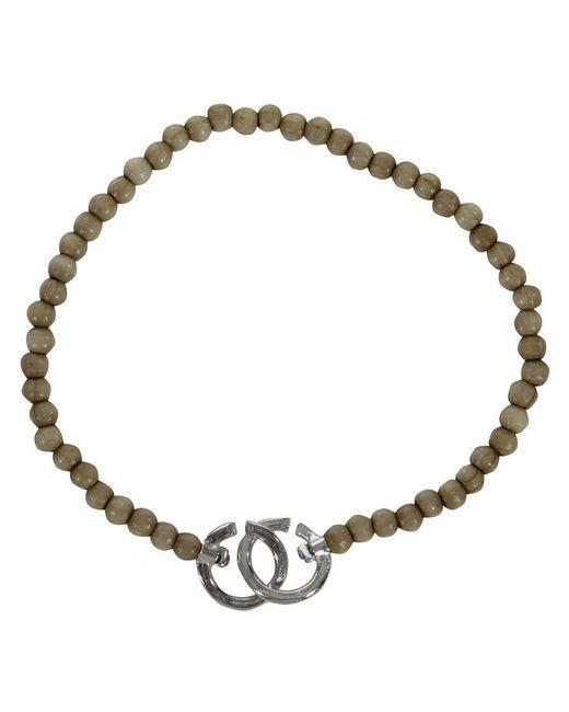 Gilbert Gilbert | Natural Ring Beige Bracelet for Men | Lyst