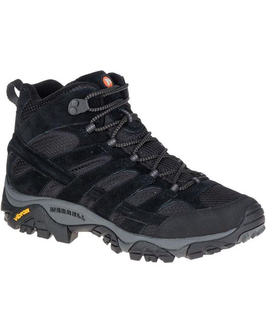 Merrell - Black Moab 2 Ventilator Mid Wide Width for Men - Lyst
