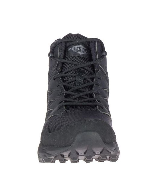8ce083fa7e2 Men's Black Agility Peak Mid Tactical Waterproof Shoe