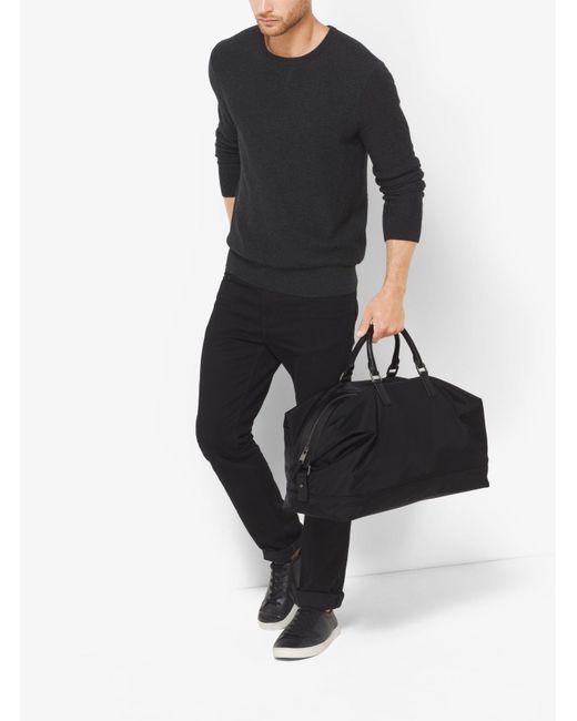 Michael Kors | Black Kent Large Nylon Duffel for Men | Lyst