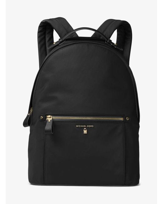 Michael Kors - Black Kelsey Nylon Backpack - Lyst