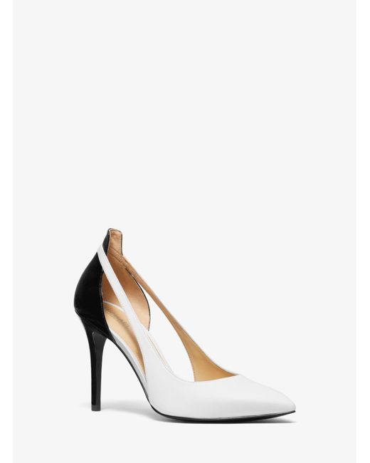 db1efa9aa407 ... Michael Kors - White Michael Cersei Pumps - Lyst ...