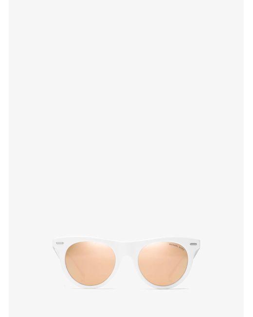 Michael Kors - White Bora Bora Sunglasses - Lyst
