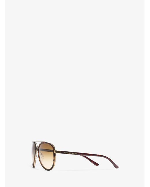 Michael Kors | Brown Playa Norte Sunglasses | Lyst