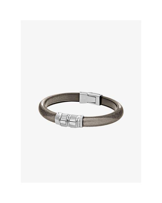 Michael Kors | Metallic Baguette Silver-tone Bracelet | Lyst