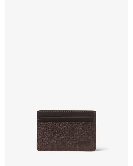 Michael Kors | Brown Jet Set Card Case for Men | Lyst
