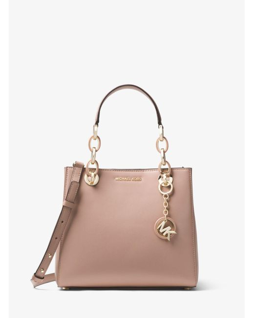 Michael Kors - Multicolor Cynthia Small Leather Satchel - Lyst