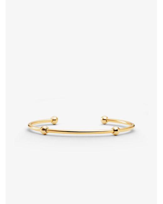 Michael Kors - Metallic Custom Kors Sterling Silver Starter Bracelet - Lyst