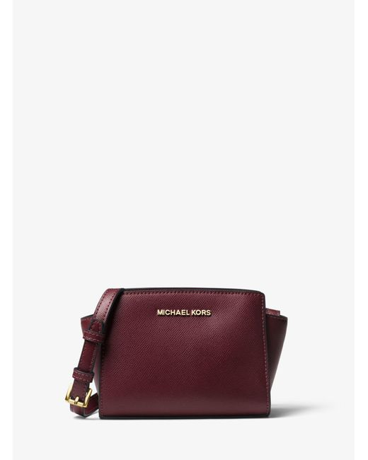 Michael Kors - Multicolor Selma Mini Saffiano Leather Crossbody - Lyst