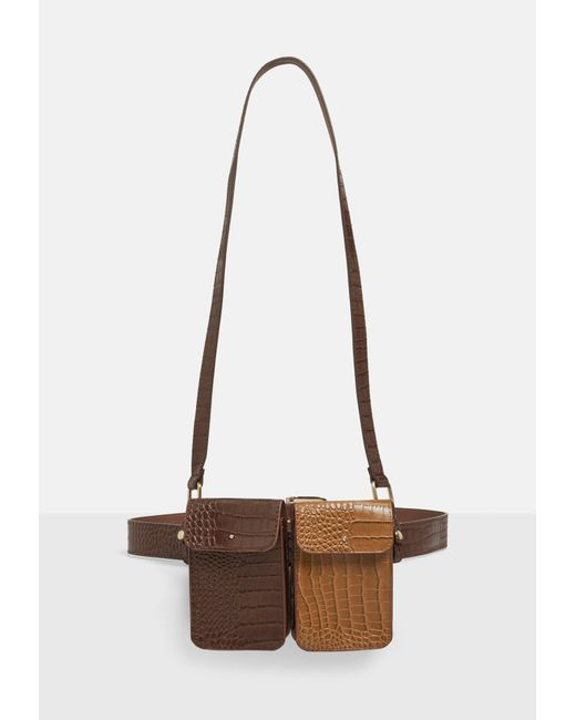 Missguided Brown Croc Harness Utility Belt in Brown - Lyst on utility clip, utility canopy, utility hook, utility water, utility light, utility ball, utility handle, utility latch, utility cover, utility bar, utility probe, utility case, utility cap, utility hose, utility receptacle, utility brush, utility hat, utility equipment, utility panel, utility fan,