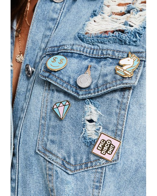 Missguided | Multicolor Epic Disco Sh*t Enamel Pin Badge Pack | Lyst