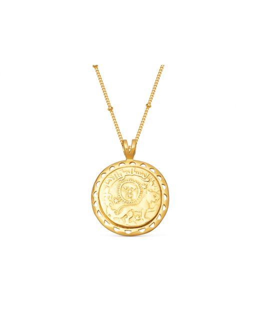 Missoma - Metallic Lucy Williams X Rising Sun Medallion Necklace - Lyst