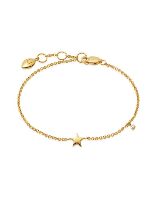Missoma Metallic Gold Star Bracelet Lyst